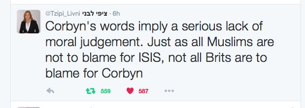 Jeremy Corbyn Spits On The Gaberdine