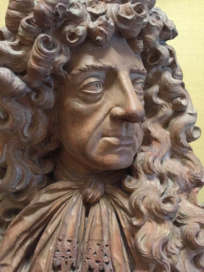 Bust of Charles II, Fitzwilliam Museum, Cambridge